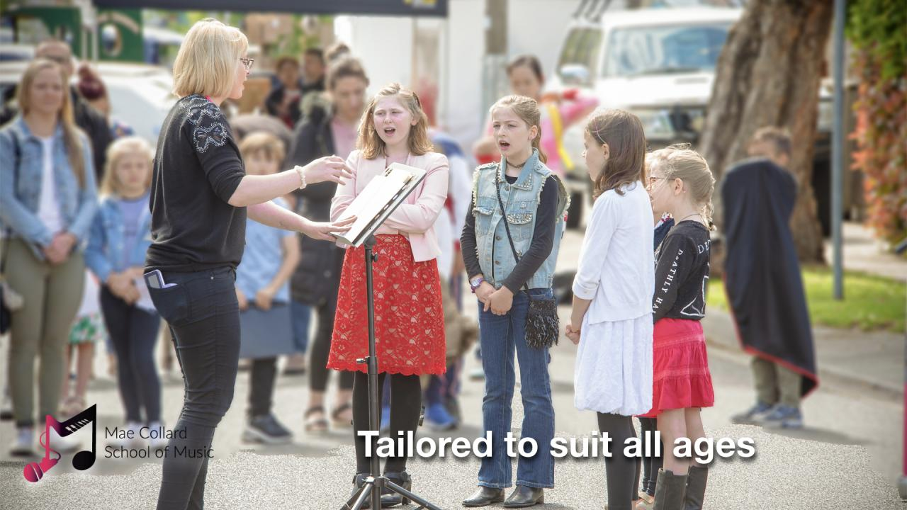 Tailored to suit all ages