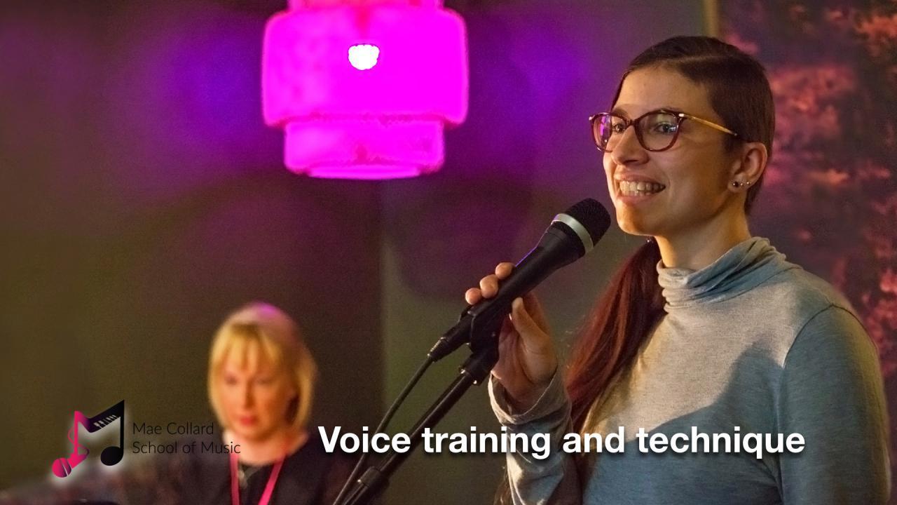 Voice training and technique