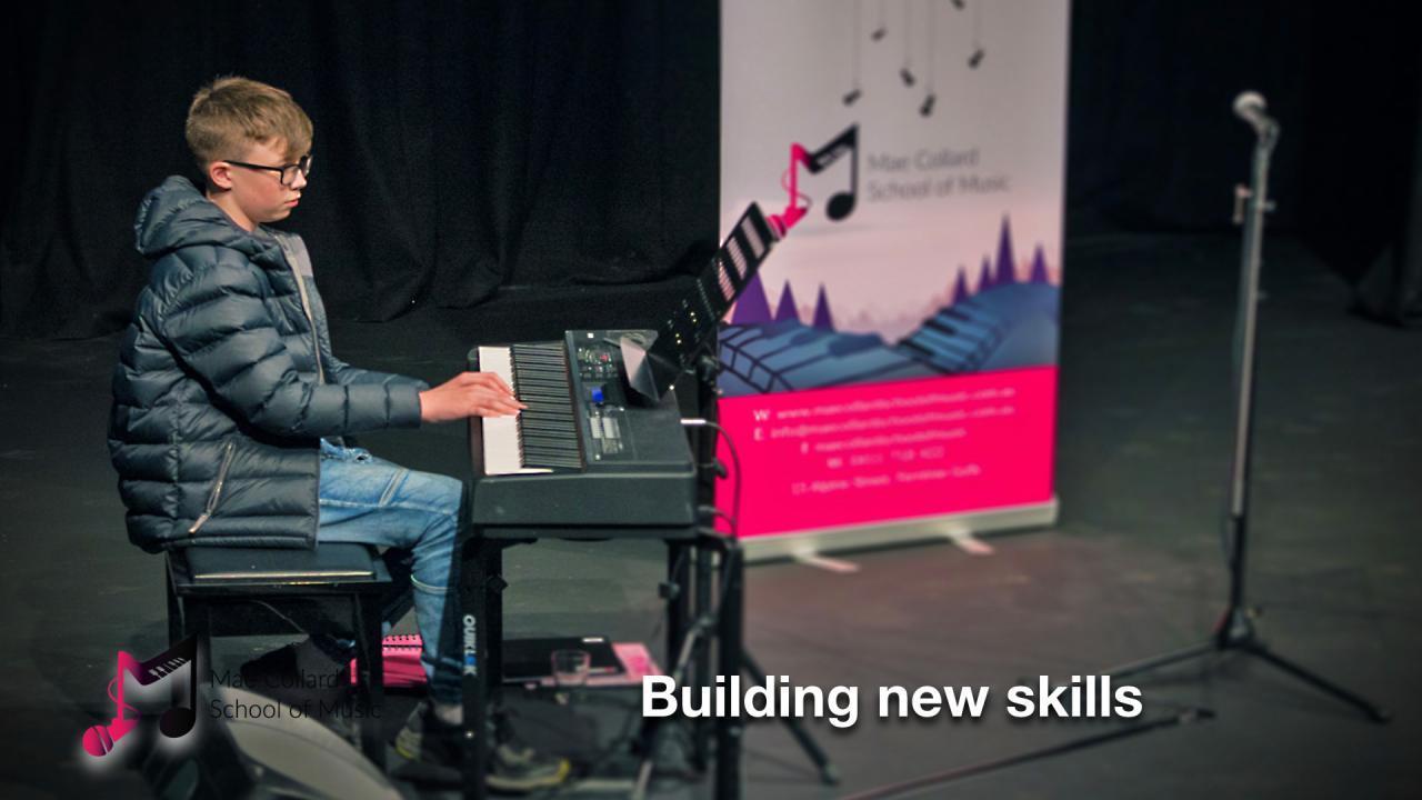 Building new skills